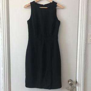 Black Jcrew wool sheath size 0